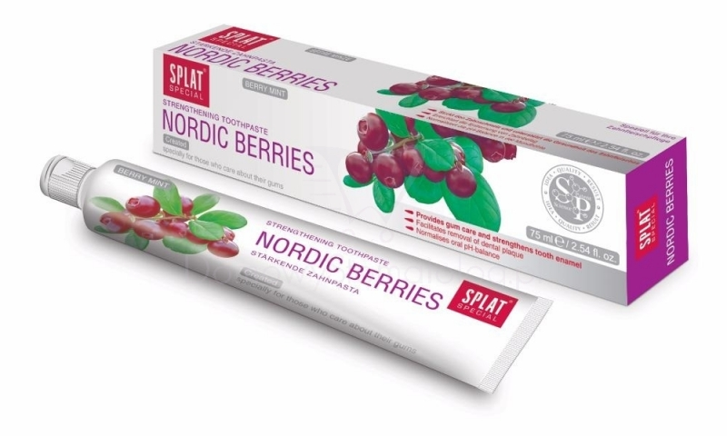 NORDIC BERRIES - kompletna nega usta 75ml